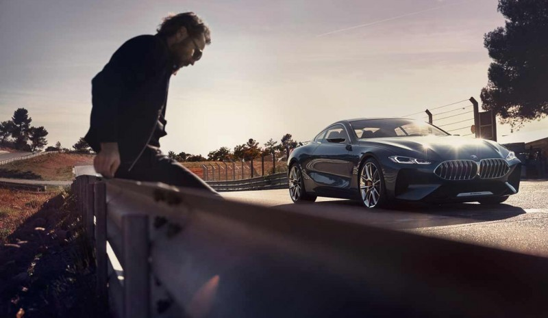 August 2018 BMW Serie: filtered their first photos