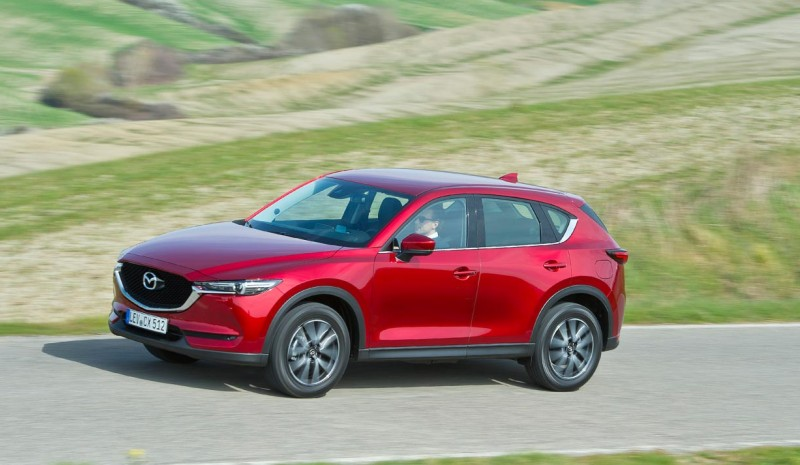 For å teste CX-5 SKYACTIV-D 2.2 175 AWD