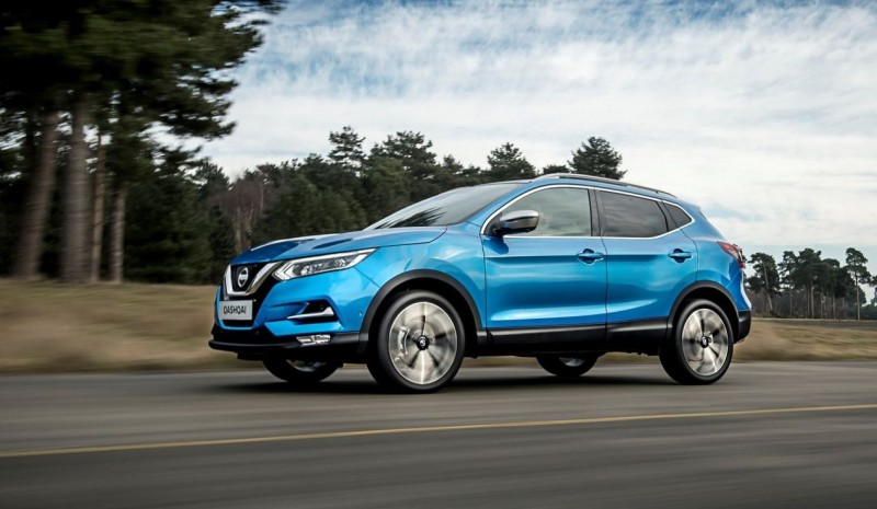 Nissan Qashqai 2017: the renewal of best-selling SUV in photos