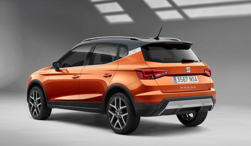 Seat Arona: that's the new SUV in photos