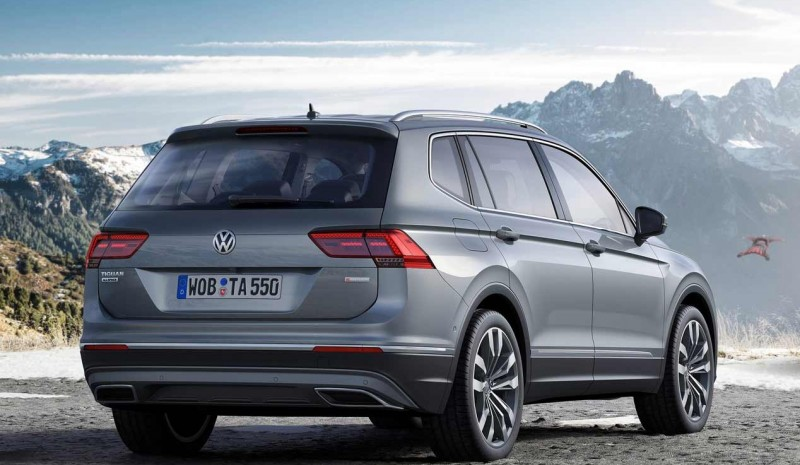 Volkswagen Tiguan Allspace: the best photos of the new SUV
