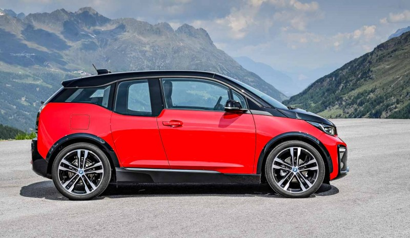 bmw i3 och i3s 2018 flera f rb ttringar och ny sport version. Black Bedroom Furniture Sets. Home Design Ideas