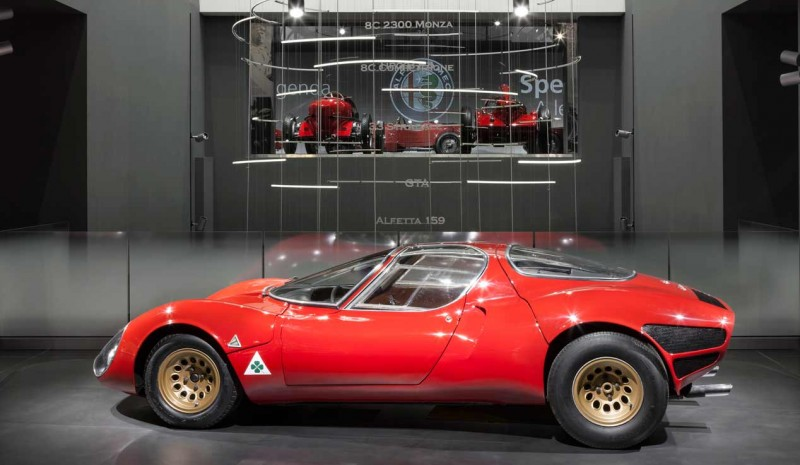 The Alfa Romeo 33 Stradale turns 55