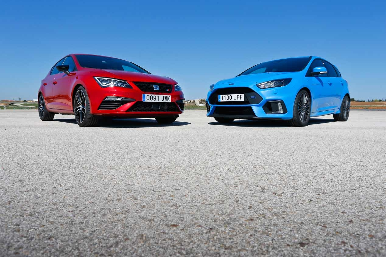 Ford Focus RS i Seat Leon Cupra 300