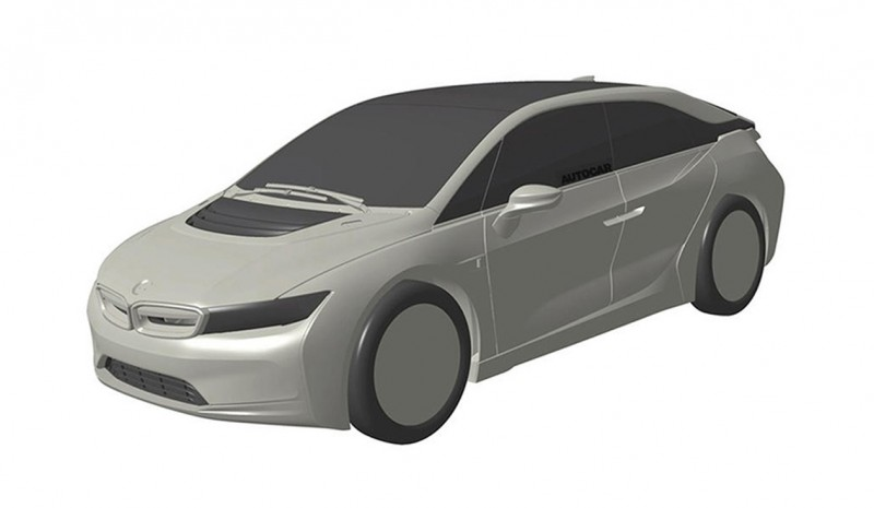 BMW i5 Concept, first images