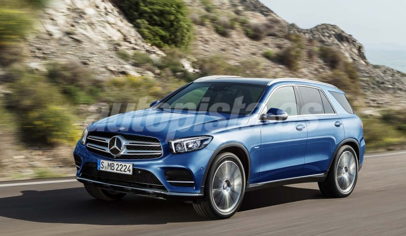 New SUV from Mercedes: the G arriving