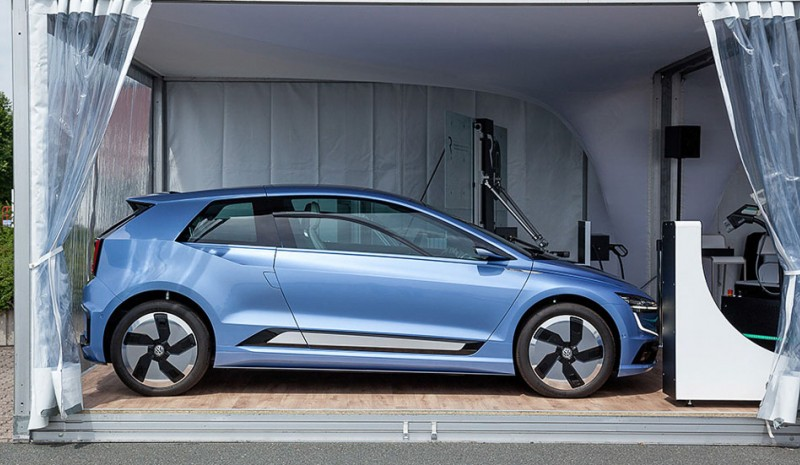 VW I.D. and Golf 8: compact arriving in 2018