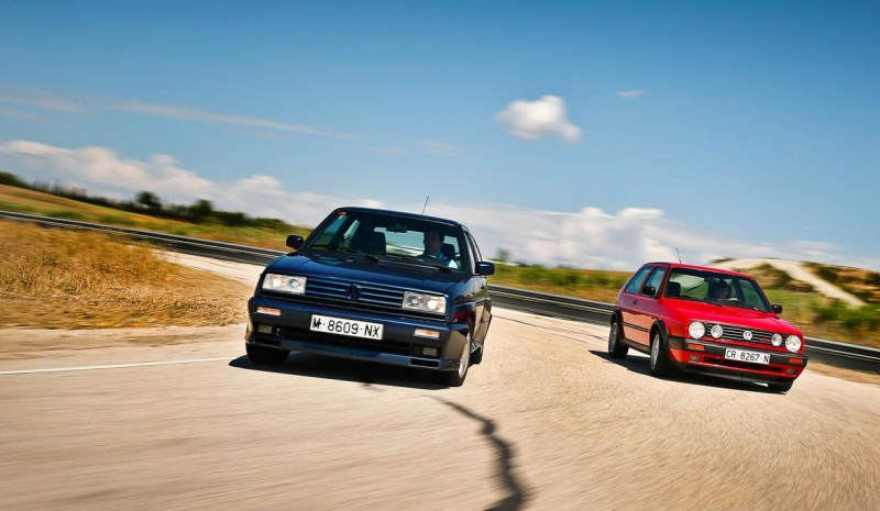Volkswagen Golf GTI G60 and Rallye: two sports classics