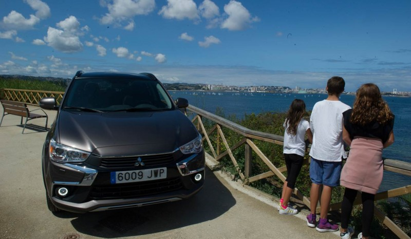 Route med Mitsubishi ASX: Snipe World in A Coruña
