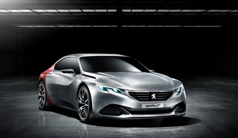 Peugeot 508 2018: 5008 and based the features of Exalt Concept