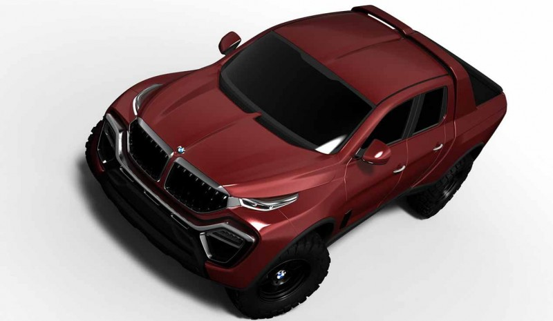 New BMW pick-up in 2018? first recreations