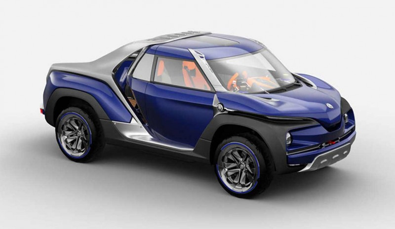 Yamaha, Cross Hub Concept, the SUV with which to load your bike