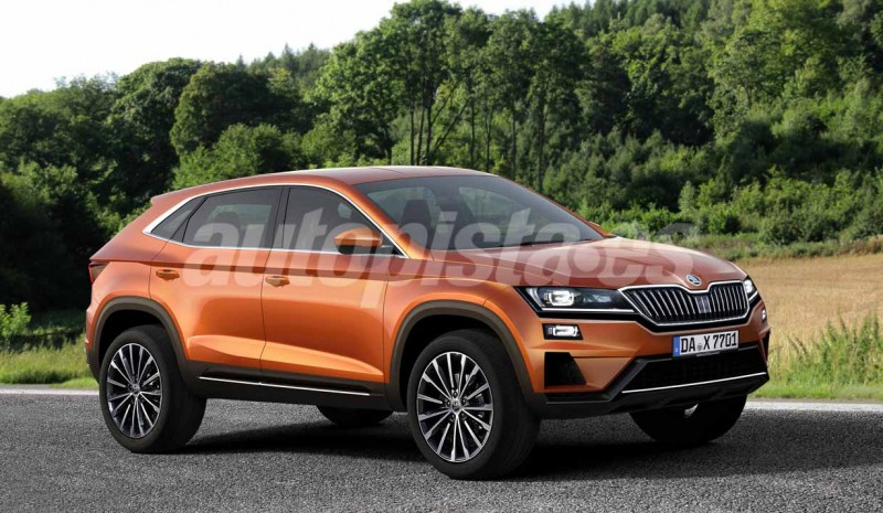 Skoda Kodiaq GT: green light to the new SUV coupe